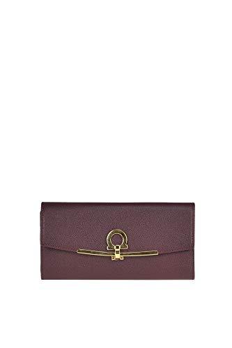 Salvatore Ferragamo Luxury Fashion Donna MCGLACR000006004I Bordeaux Portafoglio | Stagione Outlet