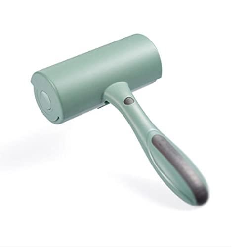 DSDBD Zmq - Cepillo para perro, reutilizable, rodillo removedor de pelo para gatos, perros, mascotas, rodillo limpiador grande, lavable, rodillo limpiador de pelusa para sofá alfombra muebles