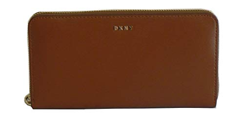 DKNY Damen Karan New York Geldbörse bryant Zip around R8313658 CAR caramel