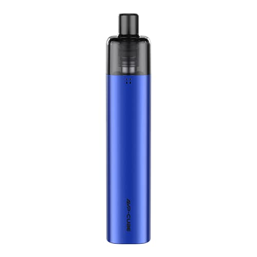 Aspire AVP Cube Sigaretta Elettronica Kit Completo Tascabile da soli 64g Pod Mod 16W con Batteria Integrata 1300mAh e Cartuccia 3,5ml per Svapo di Guancia (Navy Blue)