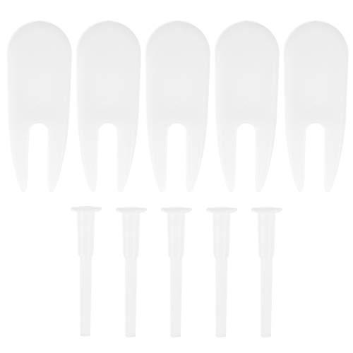 IMIKEYA 10 unids/Set tapón de Bola de Ejercicio con extractores de Tapones de reemplazo de Bolas de Yoga