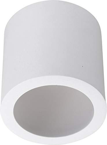 Spot inbouw gipverlichting plafondlamp GU10 230V rond - 70x70mm - installatie Ø30mm