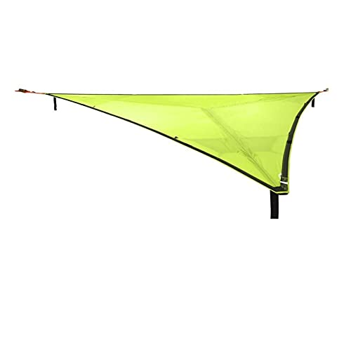 KJBGS Toldo Hamaca portátil Camping Silla Colgante Nylon de Alta Resistencia Colgando Cama Caza Caza Equipo al Aire Libre 1-2 Persona Fuerte y Robusto (Color : Green 3m)