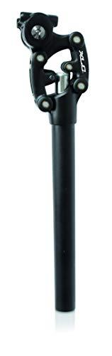 XLC Unisex– Erwachsene Federsattelstütze SP-S11, Schwarz, 350 mm