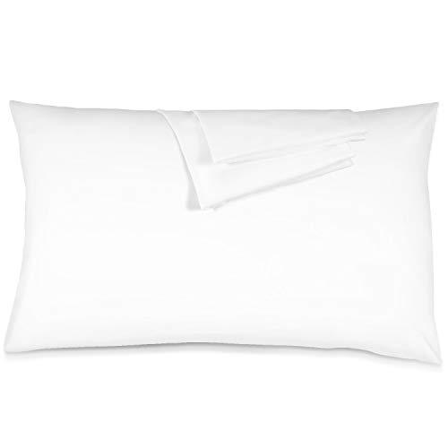 Blanc Douceur et Confort, ADORIC Taie doreiller 100/% Microfibre 50 x 70cm Lot de 2