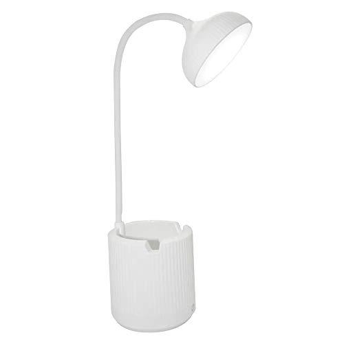 Luminaria de Mesa Abajur Touch Screen Recarregavel LED Flexivel Articulada Suporte Celular Escritorio Iluminaçao Lampada