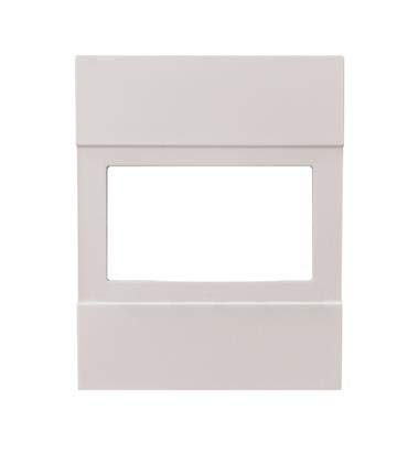 Perry 1PAF004NB frontal compatible living now para cronotermostato artículo CDS26 blanco