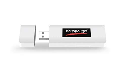 Hauppauge WinTV-UnoHD 01690 USB Stick TV-Tuner DVB-T/T2 HD Fernsehen am Laptop und PC, für Windows 7,8,10, inkl. Software und Decoder