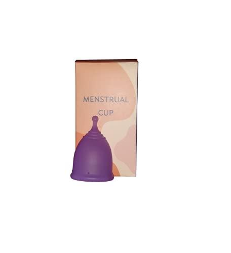 Copa menstrual íntima duradera y reutilizable talla S / talla L, copa menstrual para el cuidado del cuerpo femenino, copas de silicona medicinales reutilizables (Talla S 20 ml)