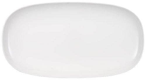 Villeroy & Boch Urban Nature Fuente para Servir, 50x27 cm, Porcelana Premium, Blanco