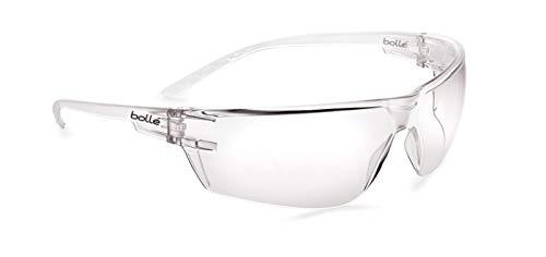 Bollé Safety S10, PSSS10001, lunettes de protection, excellent champ de vision et traitement anti-buée, convient à tous types de besoins
