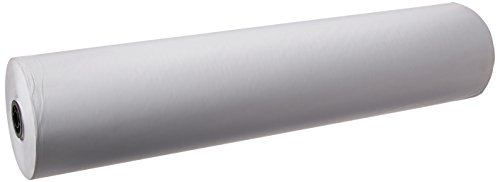 School Smart Butcher Kraft Paper Roll, 50 lb, 36 Inches x 1000 Feet, White