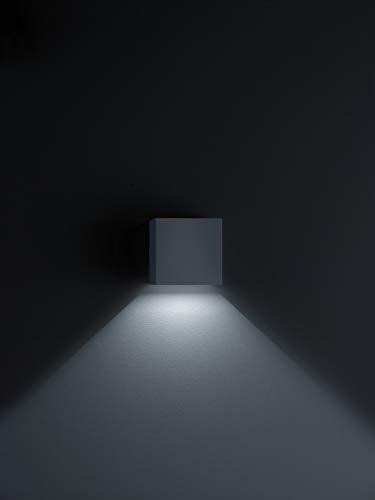 Helestra LED Downlight Siri 44 Schwarz Matt IP54 | LEDs fest verbaut 3W 190lm warmweiß | A18242.93