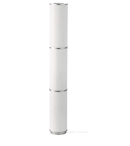 IKEA Vidja Standing Floor Lamp And 6 Bulbs; Round White