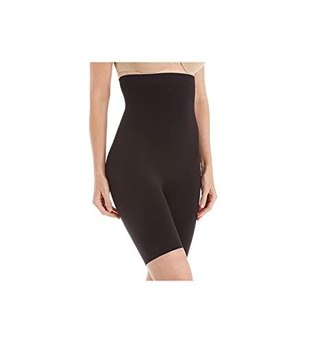 Jones New York Women's Seamless Shapewear High-Waist Brief Thigh Slimmer 712195 M Black