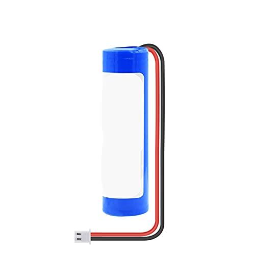 RitzyRose Batería de iones de litio de 3,7 V, 3000 mAh, 18650, baterías recargables con enchufe XH de 2,54 mm de 2 pines para Power Bank DIY