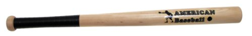 MFH Baseballschläger Holz American Baseball, natur, 26 Zoll