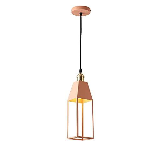Lampada a sospensione in vetro, lampada a sospensione a sospensione in metallo singolo, illuminazione a sospensione, illuminazione a soffitto a sospensione nero per agriturismo, ingresso, sala da pran