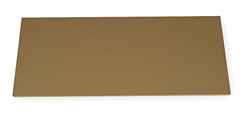 "Edsal GOAS3060 Steel Electronic Dissipative Work Bench Top, 60"" Width x 1"" Height x 30"" Depth, Almond"