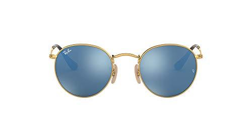 Ray-Ban Sonnenbrille RB3447 Rund Sonnenbrille 47, Gold