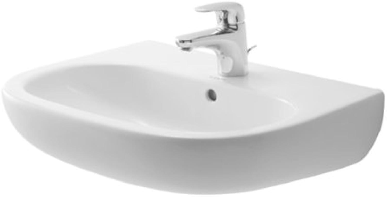 Duravit Waschbecken D Code Breite 65cm 1 Hahnloch, wei, 2310650000