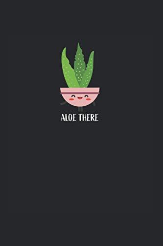 Aloe Vera: Liniertes Aloe Vera Notizbuch oder Pflanze Notizheft liniert - Floristik Journal für Männer und Frauen mit Linien