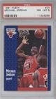 Michael Jordan PSA GRADED 8 (Basketball Card) 1991-92 Fleer - [Base] #29