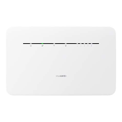 Huawei B535 4G LTE Router 3Pro (Cat.7, 4G LTE bis zu 300 Mbit/s(Download), 100 Mbit/s(Upload), WiFi 300Mbps(2.4GHz)+867Mbps(5GHz), 4x Gigabit LAN) Weiß