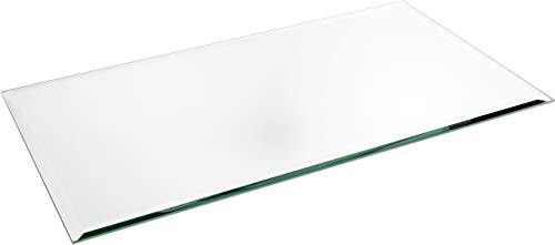 Plymor Rectangle 5mm Beveled Glass Mirror, 10 inch x 18 inch (Pack of 2)
