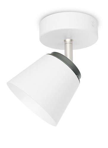 Philips 533403116 Dender Luminaire d'Intérieur Spot LED Métal Blanc 4 W