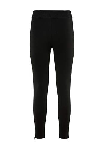 HALLHUBER Leggings mit Zippern eng geschnitten schwarz, L