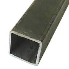 RMP Hot Rolled Carbon Steel Square Tube, 1-3/4 Inch Width x 11 Ga. Wall, 24 Inch Length, Mill Finish