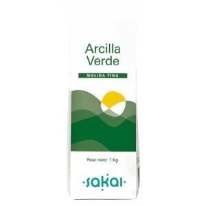 ARCILLA FINA 1 kg VERDE