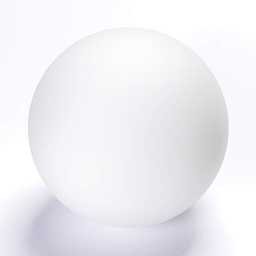 Glas Lampenschirm Ersatzglas ø 90 Kugel 2mm stark weiß G9 Lochmaß Fassung ø 23 mm Glaskugel