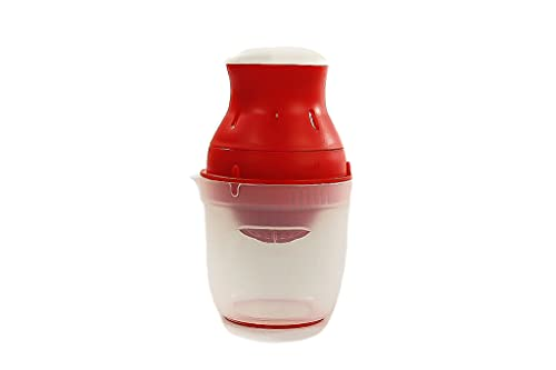 TUPPERWARE Exprimidor de limón, 500 ml, color rojo