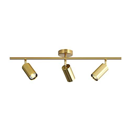 Hobaca GU10 3 luci Moderno Oro LED Faretti da soffitto Riflettore Downlight Montaggio a filo della...