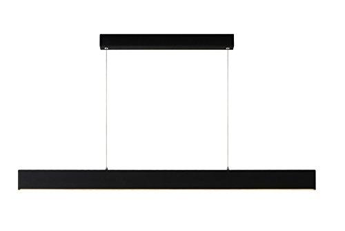 Lucide RAYA LED - Suspension - LED Dim. - 1x50W 2700K - Noir