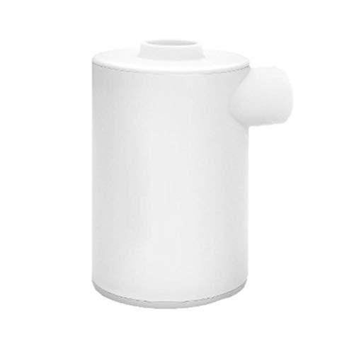 Inflador, bomba de aire eléctrica portátil USB recargable bomba de aire inflador y desflador para juguetes de piscina, anillo de natación cama de aire