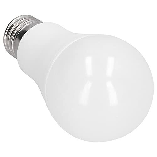 Bombilla inteligente LED Garosa 85‑265V 15W con calibre estándar E27 que admite atenuación y sincronización(Luz blanca cálida)