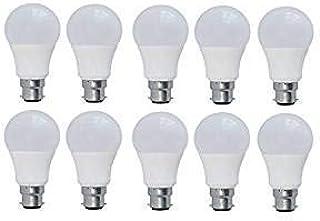 AQUA KMI B22 EcoSmart 9-Watt LED Bulb (Pack of 10, Cool White)