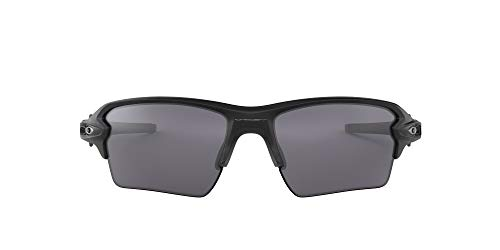 Oakley Men's OO9188 Flak 2.0 XL Rectangular Sunglasses, Matte Black, 59 mm