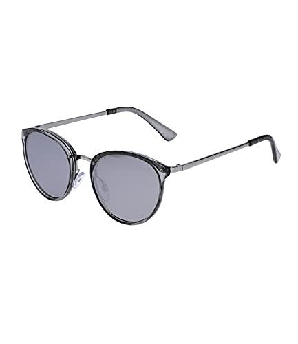SIX Sonnenbrillen für Damen, glänzende Optik, Linsen-Kategorie 3, UV400 Filter, verspiegelt (326-187)