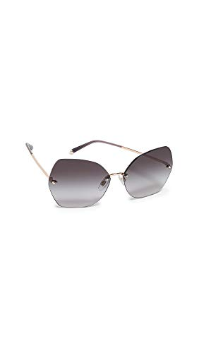 Dolce Gabbana DG 2204 Rose Gold/Gray Lens Sunglasses