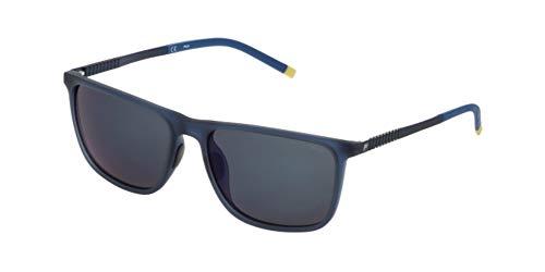 Fila Sf9247, Gafas De Sol Hombre, Semi Matt Transp.blue (AGQB)