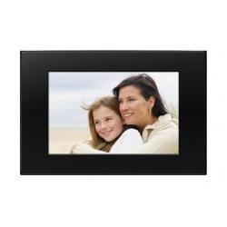 "Sony E75 Marco de Fotos Digital - Marco Digital (17,8 cm (7""), LCD, 16:10, 256 MB, Borrar, Girar, Negro)"