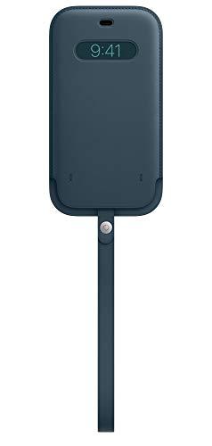 Apple Lederhülle mit MagSafe (für iPhone 12 Pro Max) - Baltischblau