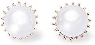 Kamila 18K Rose Gold-Plated Pearl Earrings