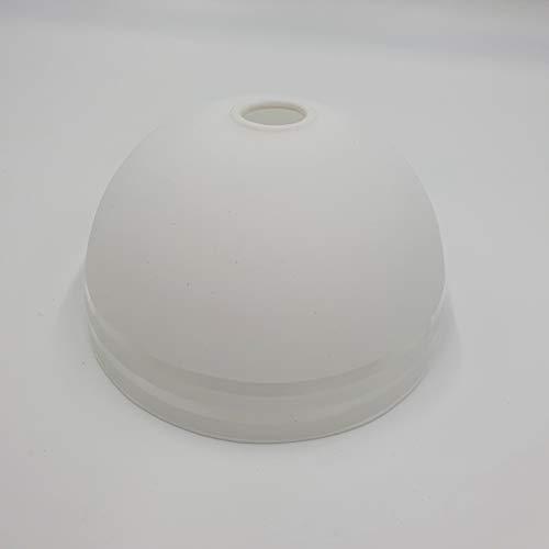 G9 Ersatzglas weiß matt klar/gestreift Ersatzschirm Schirm Leuchtenschirm Leuchtenglas Pendelleuchte Deckenleuchte