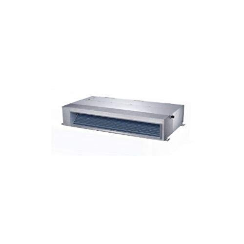 Aire acondicionado, unidad interior, cassette conductos A6 Twins Axial, modelo MTI-24HWFN1-QRD0-1, 70 x 88 x 21 centímetros, color gris (referencia: MTI-24HWFN1-QRD0-1)