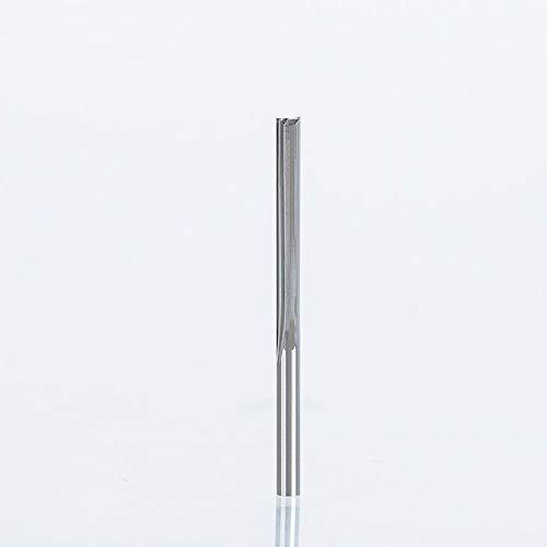 Brocas Para 1 pieza de 3,175mm, brocas de enrutador rectas de dos flautas para madera, cortadores de grabado recto CNC, fresas de carburo-2548